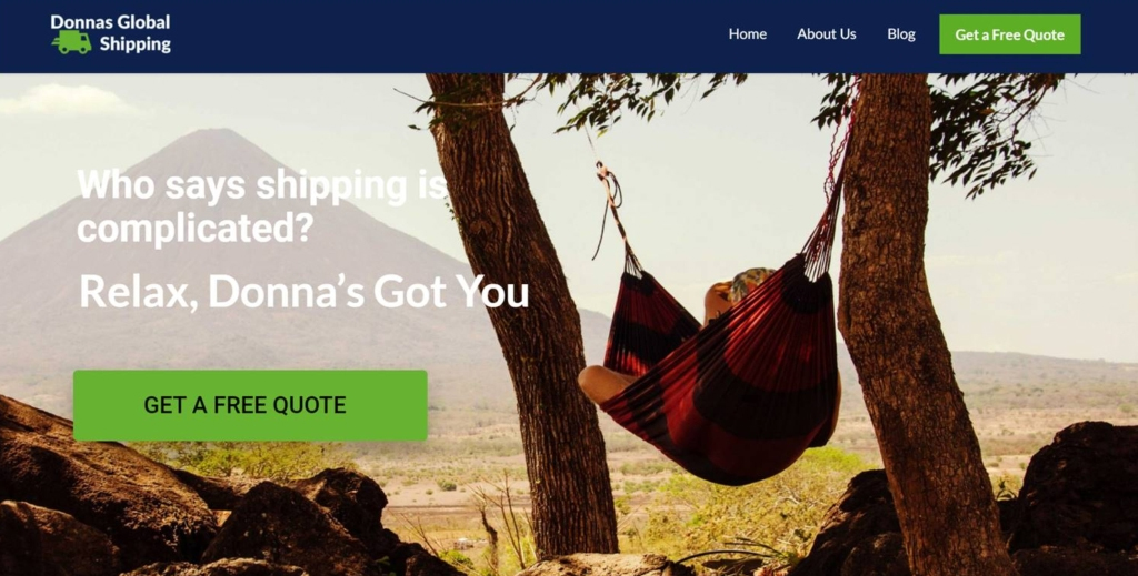 donna-sglobal-shipping-webssite